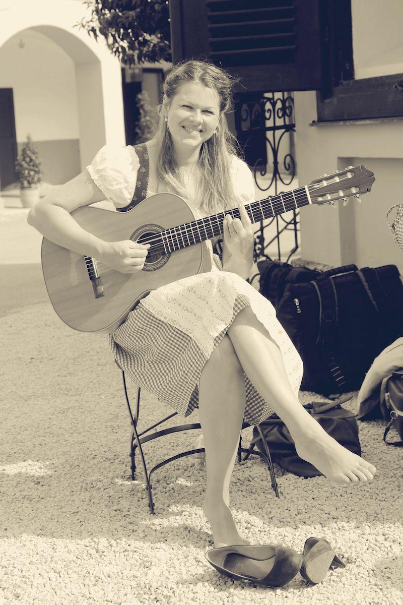 Die Musikerin: Melanie Lerchner