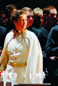 2004 Richard Strauss, Der Rosenkavalier. Angelika Kirchschlager (Octavian) Archiv der Salzburger Festspiele/Foto Hans Jörg Michel