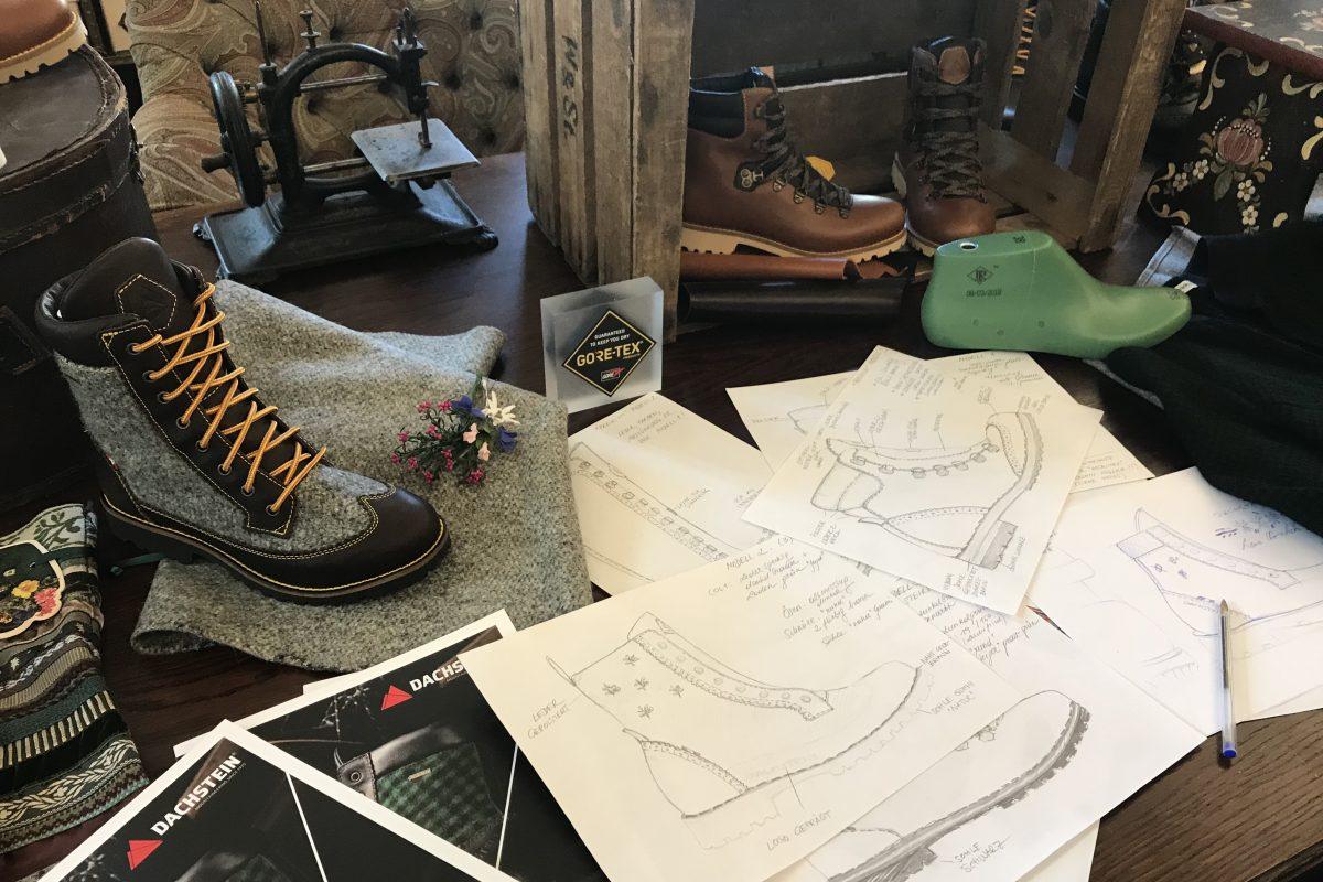 Viele Schritte sind notwendig um den perfekten Schuh zu designen.
