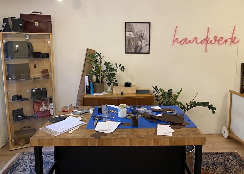Christina Roths kleine Werkstatt