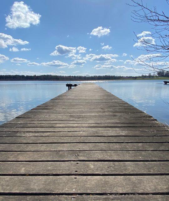 Barfuß um den Ibmer See