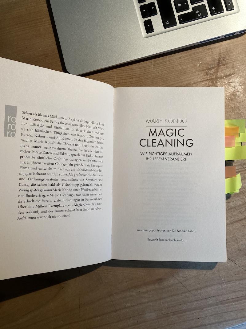 Marie Kondo, Magic Cleaning